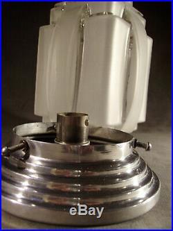 Lampe Building Moderniste Cubiste Art Deco Skyscraper Gratte-ciel 1930