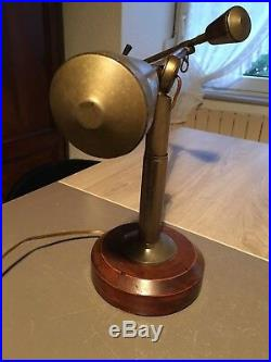 Lampe Buquet 1930- Art Deco 30s-bauhaus Gras Jielde JUMO Buquet Wilfrid 30s