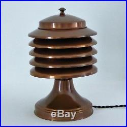 Lampe COULTER 1930 Art Déco Bauhaus