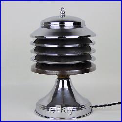 Lampe COULTER 1930 dlg Perzel Adnet Desny lacroix Art Déco