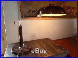 Lampe De Bureau Long Neck Kirby Beard Desing Alfred Mueller 1930 Bahaus Art Deco
