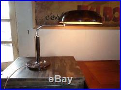 lampe art deco lampe de bureau long neck kirby beard desing alfred mueller 1930 bahaus art deco. Black Bedroom Furniture Sets. Home Design Ideas