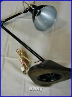 Lampe GRAS 206 SGDG Art Deco 1920 1930