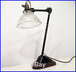 Lampe GRAS 206 SGDG Art Deco Bauhaus Factory Table Lamp 1920 30 era Le Corbusier