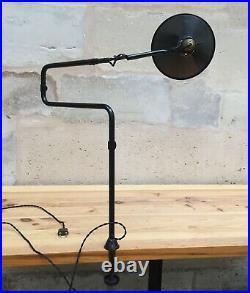 Lampe GRAS 211 Art Deco Bauhaus Industrial Factory Table Lamp Le Corbusier 1920
