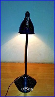 Lampe Gras de Bureau Modèle 205 par Bernard-Albin