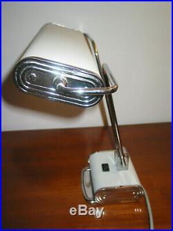 Lampe JUMO N° 71 art déco vintage moderniste bureau architecte charlotte Perill+