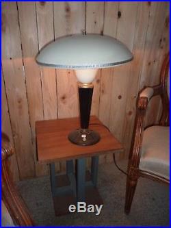 Lampe Jumo, lampe champignon bakélite et tole