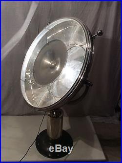 Lampe Lampadaire Art Deco 1930 Design Industriel XXL