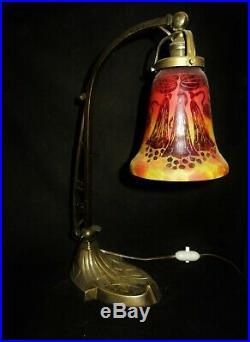 Lampe Le Verre Français / Schneider