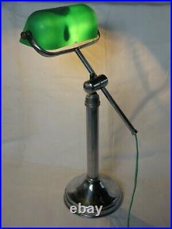 Lampe Monix, Art Deco, De Bureau, Atelier, D' Ambiance, De Banquier, De Notaire