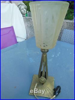 Lampe Muller Art Deco / Art Nouveau