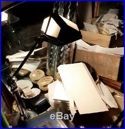 Lampe Pirouett Ancienne Art Deco Fonctionne! Lampe D Atelier Deco Loft