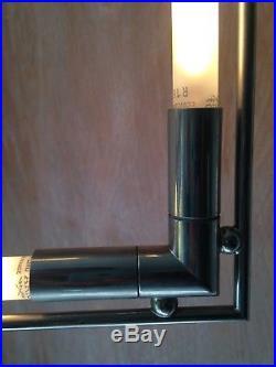 Lampe QUADRO de Jacques Adnet créé vers 1928 (Art Déco) en parfaite état