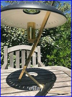 Lampe Vintage De Louis Kalff Pour Philips Vers 1950 Premier Modèle