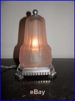 Lampe art déco Muller Frères
