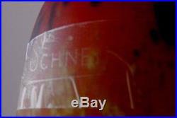 Lampe art déco Schneider époque Muller frères