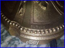 Lampe charles RANC bronze doré art deco pate de verre schneider gallé muller