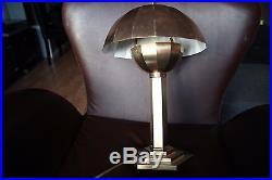 Lampe de bureau ART DECO en Laiton doré MORAND PARIS
