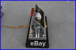 Lampe de bureau Art déco moderniste 1930 réglable