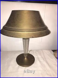 Lampe de bureau Genet et Michon Art déco -1930