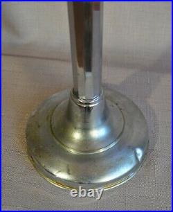 Lampe de bureau PIROUETT pirouette art deco chrome vintage 1930 jieldé jumo
