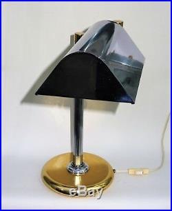 Lampe de bureau desing 1980 orientable