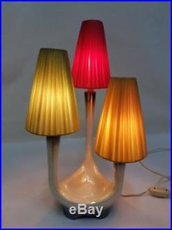 Lampe de table en céramique alfa années 60 modernariato