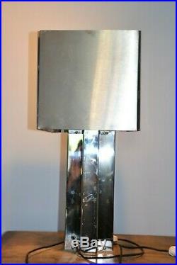 Lampe de table style MAX SAUZE vintage année 60 70