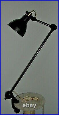 Lampe gras SGDG type 201 dessinateur Art Deco