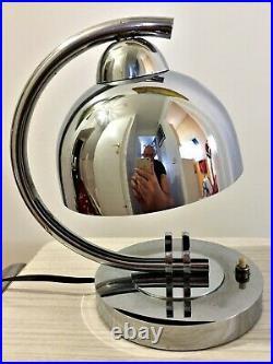 Lampe moderniste art-déco années 20/30 DLG Gilbert Rhode