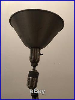 Lampe téléscopique triplex, sweden industrielle Johan petter johansson