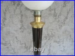 Lampe tulipe Mazda verre opaline Design