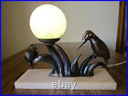 Lampe veilleuse art Déco