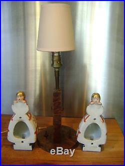 Lampe veilleuse art deco signé argilor Paris era Robj