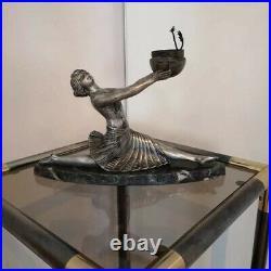Lampe veilleuse danseuse régule art déco 1925