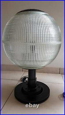 Lampes Europhane, Holophane, paire de lampes à poser