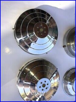 Lot De 14 GRIFFES ANCIENNE lampe GLOBE PLAFONNIER APPLIQUES ART DÉCO Vintage