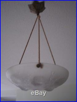 Luminaire Suspension Sabino Paris Art Deco Coraux Oursins Lampe 1930 Style Laliq