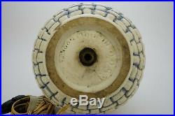MOUGIN NANCY, GASTON GOOR, LAMPE EN GRES ART DECO, ceramic vintage, pottery design