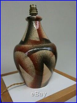 Marcel Guillard ART Deco Lampe Céramique Editions Etling Paris (Boulogne Vase)