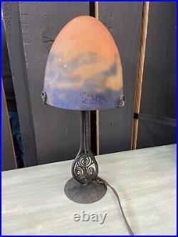 Muller Freres Luneville Lampe Art Deco