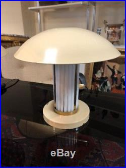 Paire De Lampes De Chevet Art Deco 1940 Genre Perzel