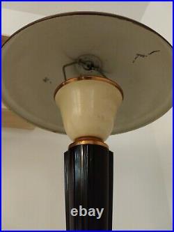 Paire De Lampes Jumo 320 Art Deco Bakelite