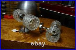 Paire dappliques See Delmas design vintage ancien ancienne lampe luminaire 70