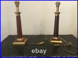 # Paire de LAMPE vintage ALPHA DÉCOR dlg Design Maison bagues jansen