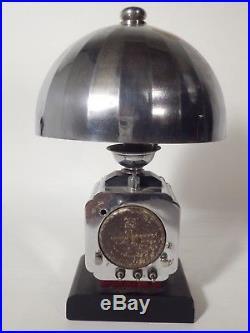 Pendule réveil art deco lampe COTNA électrique