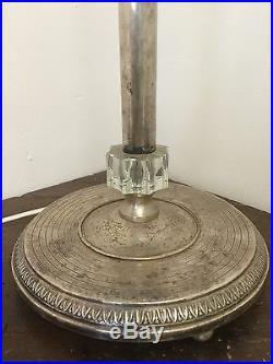 lampe art deco pied de lampe opaline verte billard art deco design bureau french mazda 1930. Black Bedroom Furniture Sets. Home Design Ideas