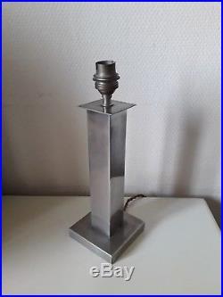 Pied de lampe Moderniste Art Deco Maison Desny lamp