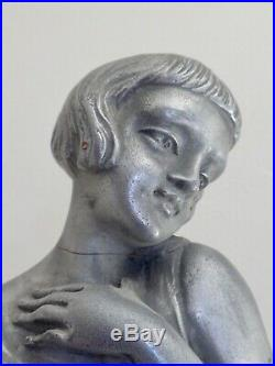 Pied de lampe à décor d'une danseuse époque ART DECO 1930